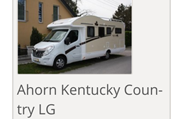 Wohnmobil: Teilintegriertes Wohnmobil Renault Ahorn Kentucky Country LG